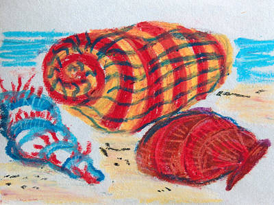 Pastel - Sea Shells by Racquel Morgan