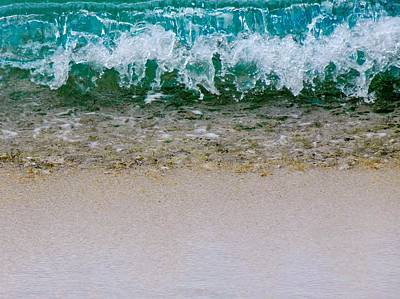Sea Shore Colors Art Print