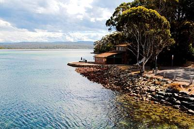 Photograph - Sea Shore Merimbula by David Rich
