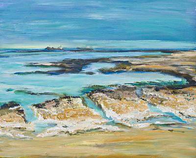 Sea Sky And Beach Art Print