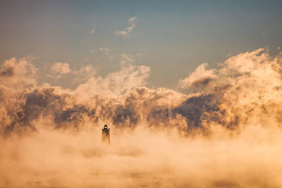 Photograph - Sea Smoke by Robert Clifford