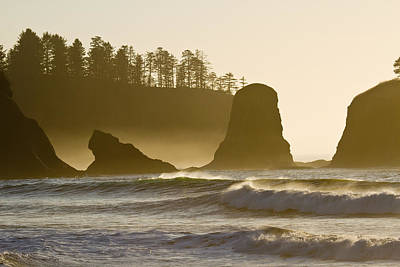 Photograph - Sea Stacks - Rialto Beach - La Push by Marie Jamieson