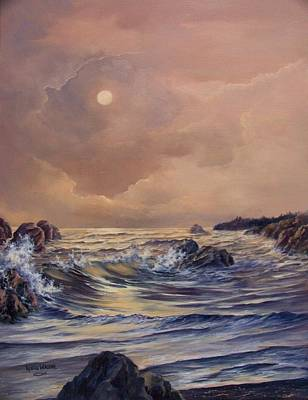 Painting - Sea Stacks by Lynne Wright