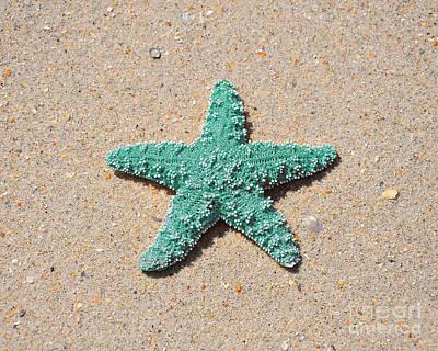 Sea Star - Aqua Art Print