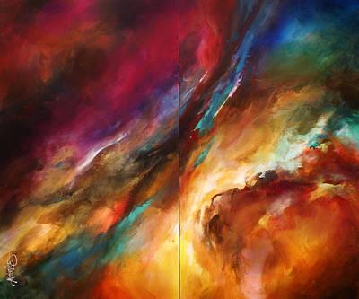 'sea Storm' Art Print by Michael Lang