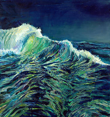 Sea Swells Art Print