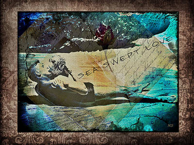 Digital Art - Sea Swept Love by Absinthe Art By Michelle LeAnn Scott