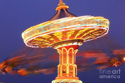 Photograph - Sea Swings by Theresa Ramos-DuVon