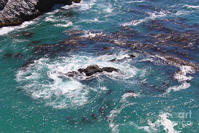 Nature Photograph - Sea Swirl by Bev Conover