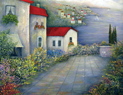 Painting - Sea Terrace by Loretta Luglio