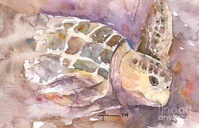 Sea Turtle #3 Original