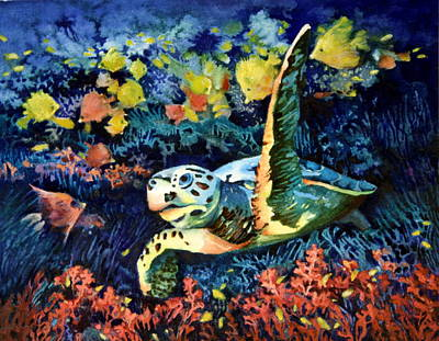 Paul Mccartney - Sea Turtle 3 by Lynda Dorris