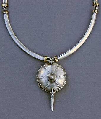 Sterling Silver Pendants Jewelry - Sea Urchin Necklace by Mirinda Kossoff