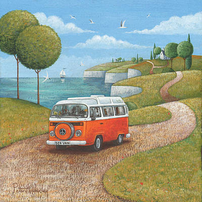 Summer Photograph - Sea Van Variant 1 by Peter Adderley
