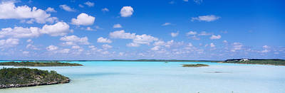 Turks And Caicos Islands Photograph - Sea Viewed From The Beach, Chalk Sound by Panoramic Images