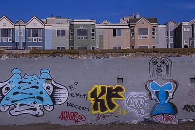 Sea Wall San Francisco Art Print by Garry Gay