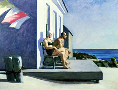 Edward Painting - Sea Watchers by Edward Hopper