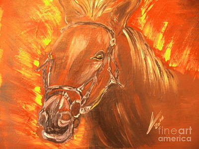 Seabiscuit Painting - Seabiscuit by Collin A Clarke