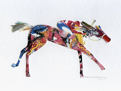 Seabiscuit Mixed Media - Seabiscuit by Shirley Robinett