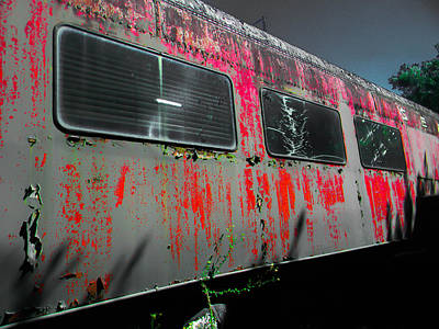 Photograph - Seaboard Railroad Car by Christy Usilton