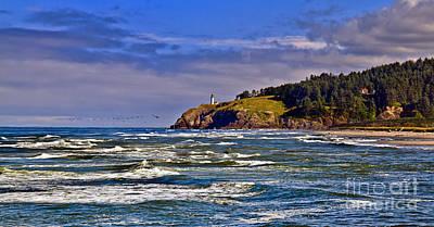 Haybales Photograph - Seacape by Robert Bales