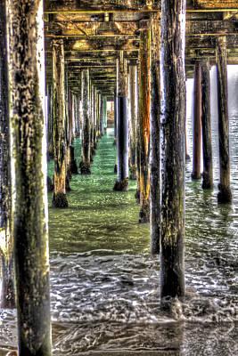 Santa Cruz Photograph - Seacliff Pier 3 by SC Heffner