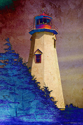 Photograph - Seacow Head Lighthouse 2 by WB Johnston