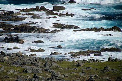 Photograph - Seafoam by Andrea Dale