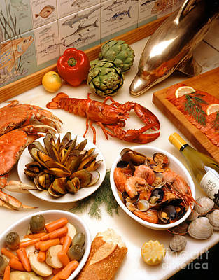 Photograph - Seafood Extravaganza  by Craig Lovell