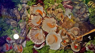 Photograph - Seafood In Venice-12 by Rezzan Erguvan-Onal