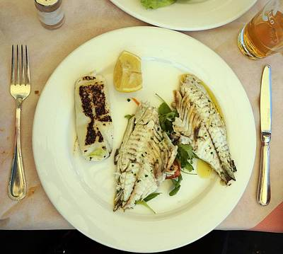Photograph - Seafood In Venice-3 by Rezzan Erguvan-Onal
