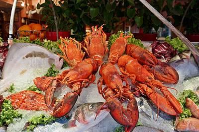 Photograph - Seafood In Venice-6 by Rezzan Erguvan-Onal
