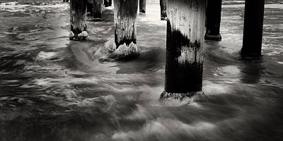 Photograph - Seaford Pylons by Tim Nichols