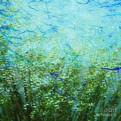 Darla Digital Art - Seagrass by Darla Wood