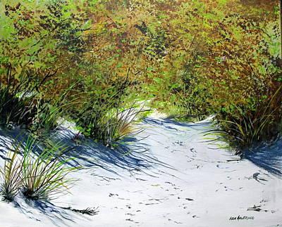 Seagrass Art Print by Ken Ahlering
