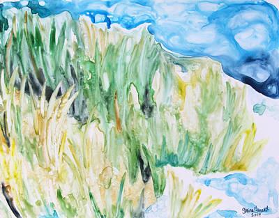 Seagrass Painting - Seagrass Sonata by Shaina Stinard