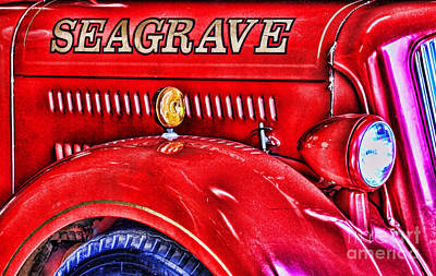 Photograph - Seagrave By Diana Sainz by Diana Raquel Sainz