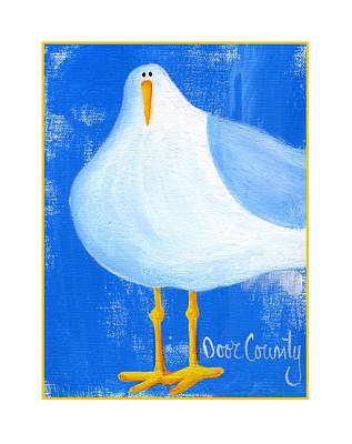 Painting - Seagull by Pat Olson