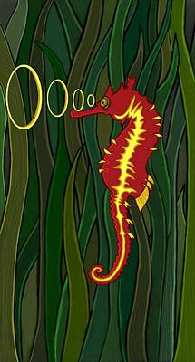 Seahorse Original by Ana Balazic