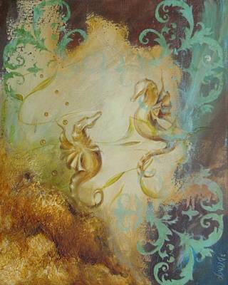 Seahorse Dream 1 Art Print