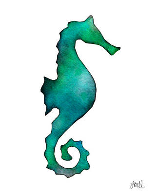 Painting - Seahorse by Laura Bell