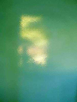 Painting - Seahorse Light And Green by Phoenix De Vries