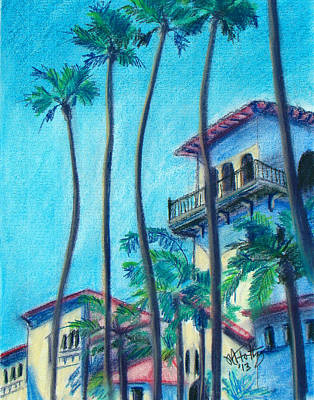 Painting - Seal Beach City Hall by Michael Foltz