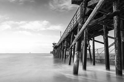Photograph - Seal Beach Pier Ca by George Pennock
