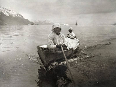Photograph - Seal Hunters, C1899 by Granger