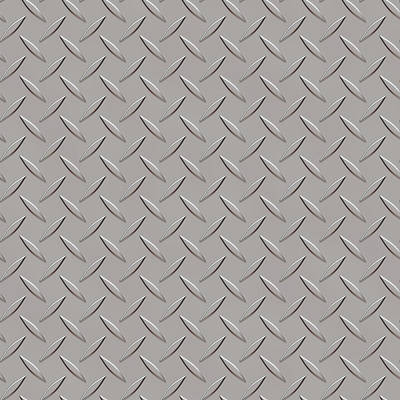 Seamless Metal Texture Rhombus Shapes 3 Art Print by REDlightIMAGE