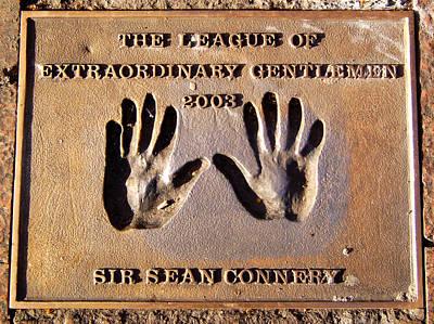 Photograph - Sean Connery An Extraordinary Gentlemen by Cathy Shiflett