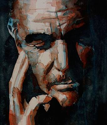 Sean Painting - Sean Connery  by Paul Lovering