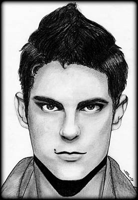 Sean Faris Art Print by Saki Art