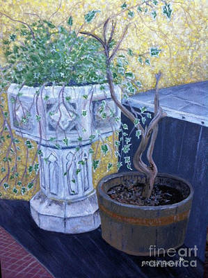Painting - Sean's Planter by Brenda Brown